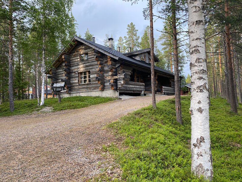 Levi Log Cabin, vacation rental in Levi