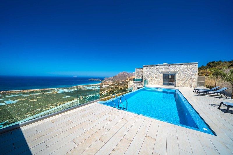 Villa Ariti | Luxury villa, amazing seaview close to Falassarna Beach, holiday rental in Falassarna