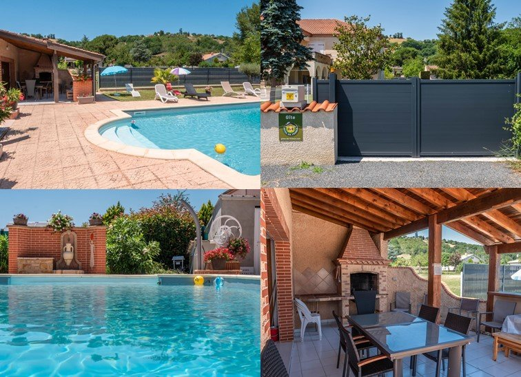 gîte 3* de plain pied avec piscine 3km d'Albi, holiday rental in Serenac