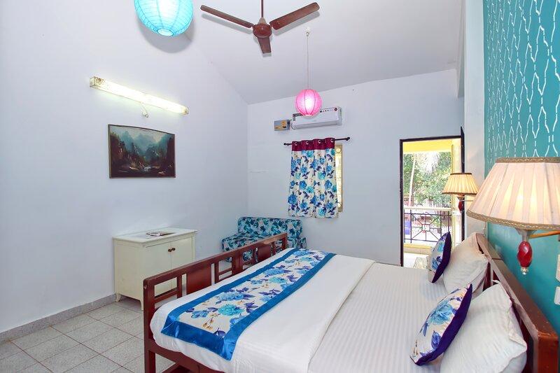 Beautiful 02 BHK Villa near Calangute Beach, location de vacances à Calangute
