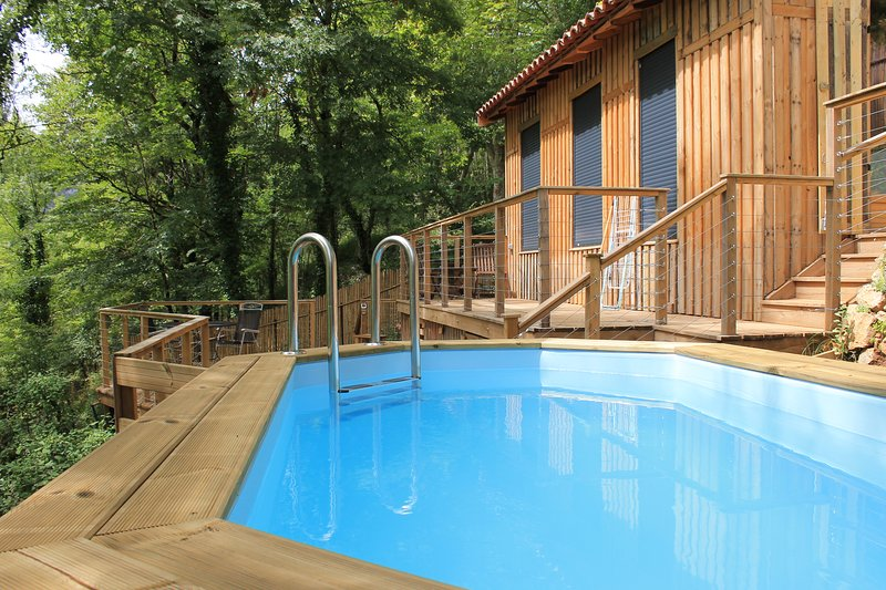 Les Terrasses - tranquility in Saint Antonin Noble Val, holiday rental in Penne