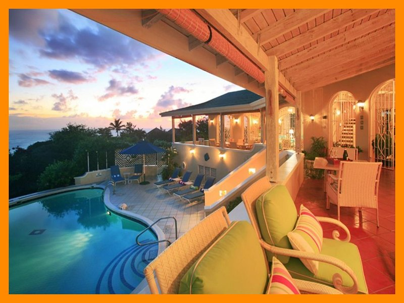 Cap Estate 53 - Exclusive villa with pool and views of the Carribean Sea, holiday rental in Cap Estate