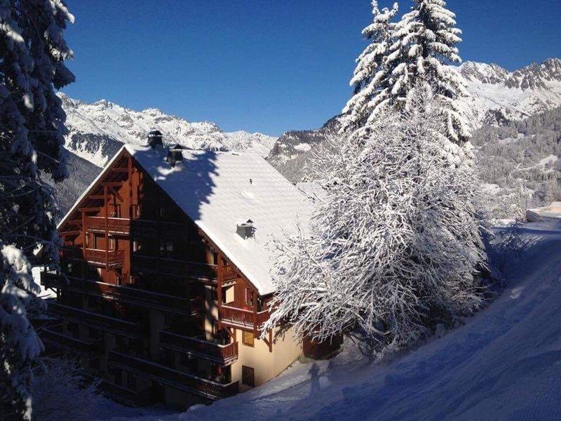 Impeccable ski-in/out 4-Bed Appt in Oz en Oisans, location de vacances à Allemond