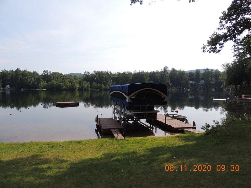 Dock, Raft & Tri-Toon Boat