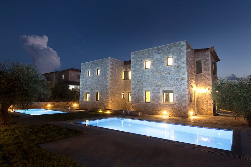 Torri di Pietra Villa 1, vacation rental in Stoupa