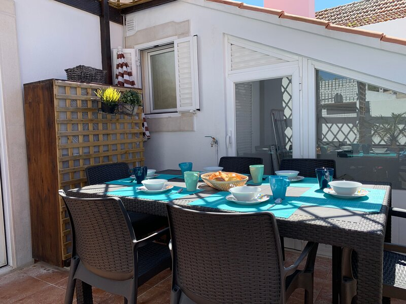 Duplex Apartment with terrace in Cascais downtown, holiday rental in Lisbon District