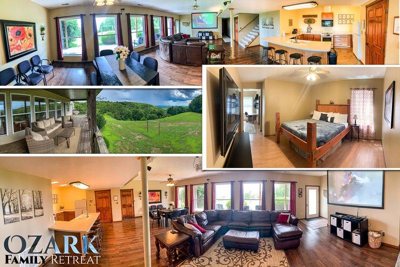 Ozark Family Retreat, holiday rental in Galena
