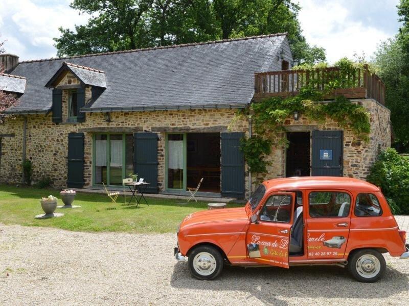 La Cour de Limèle, holiday rental in Martigne-Ferchaud
