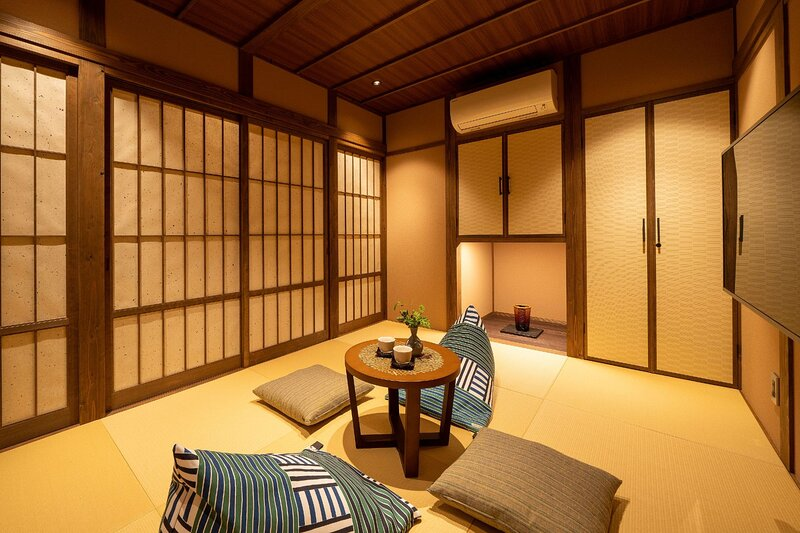 Traditional w/ Large Bedroom + Art Installation – semesterbostad i Kanazawa
