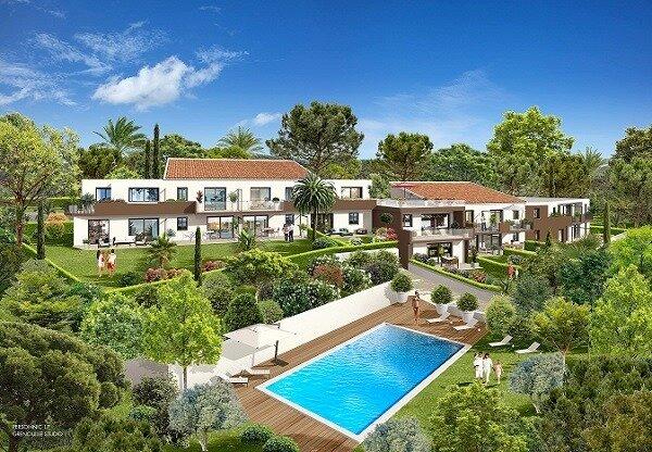 Villa Appartement Saint-Raphaël* 6 pers* zwembad* airco en zicht zee, Ferienwohnung in Boulouris