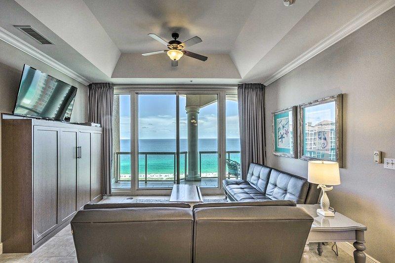 This Pensacola Beach vacation rental is a coastal retreat.