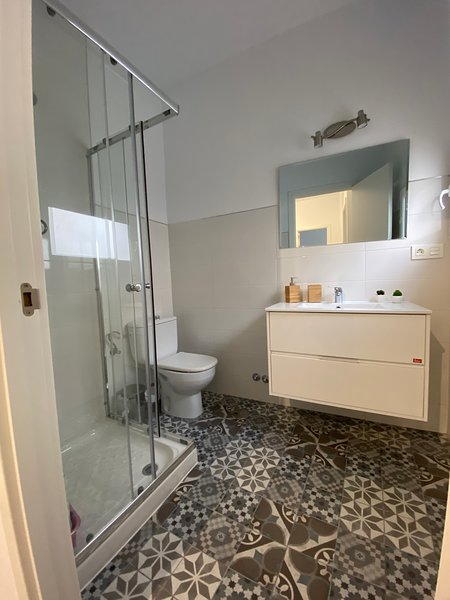 And the bathroom!