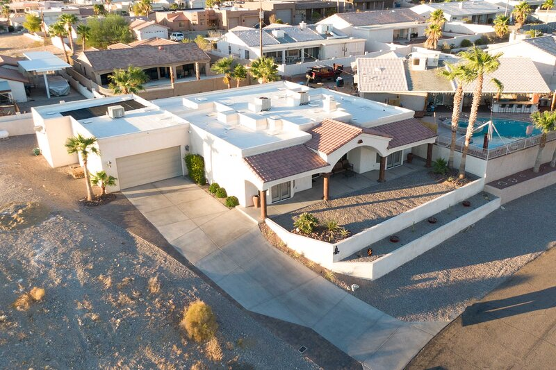 Aerial View | Front Yard
