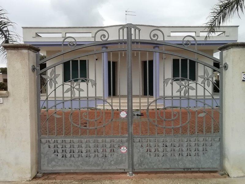 Villa Raino, holiday rental in Marina di Mancaversa