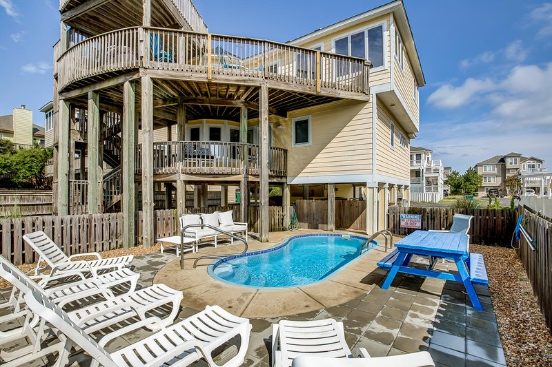 Happily Ever After | 200 ft to the beach | Private Pool, Hot Tub, alquiler de vacaciones en Corolla