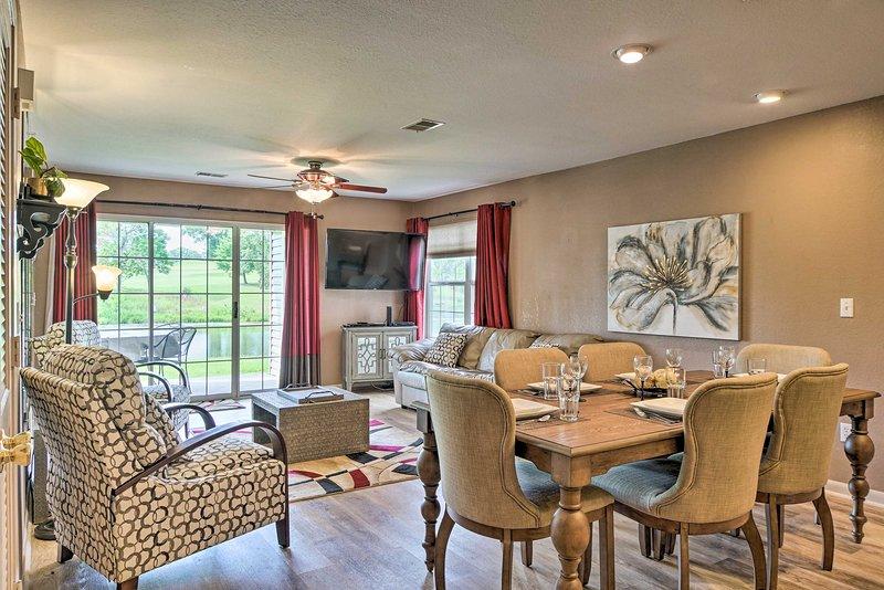 NEW! Resort Living in Branson 4Mi to the 76 Strip!, vacation rental in Rockaway Beach