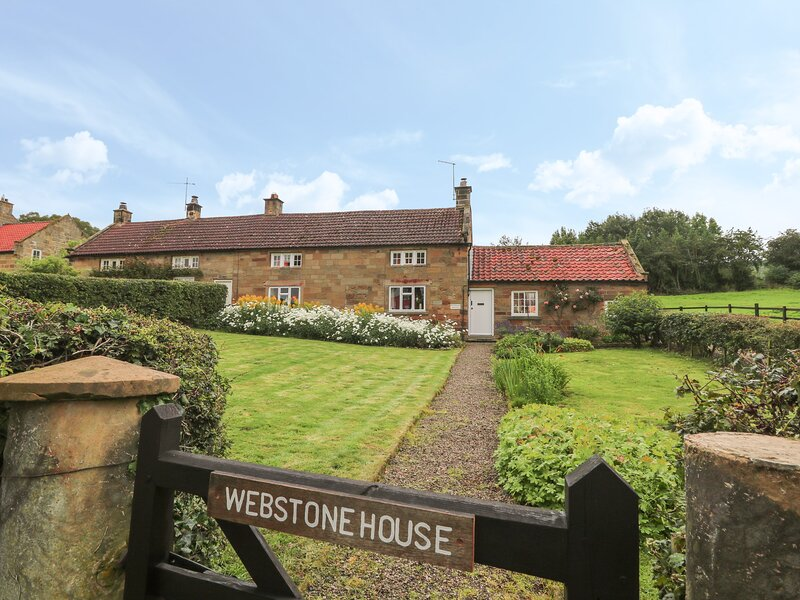 Webstone House, Osmotherley, holiday rental in Potto