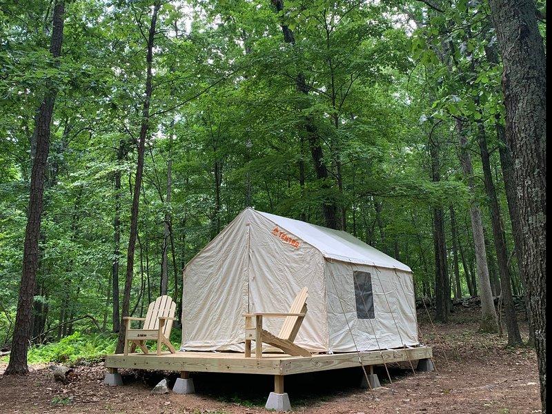 Tentrr Signature Site - Rifton Farm Hidden Forest, vacation rental in New Paltz