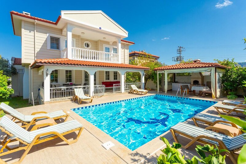 Villa RainDrop; Luxury holiday home in Dalyan, holiday rental in Koycegiz