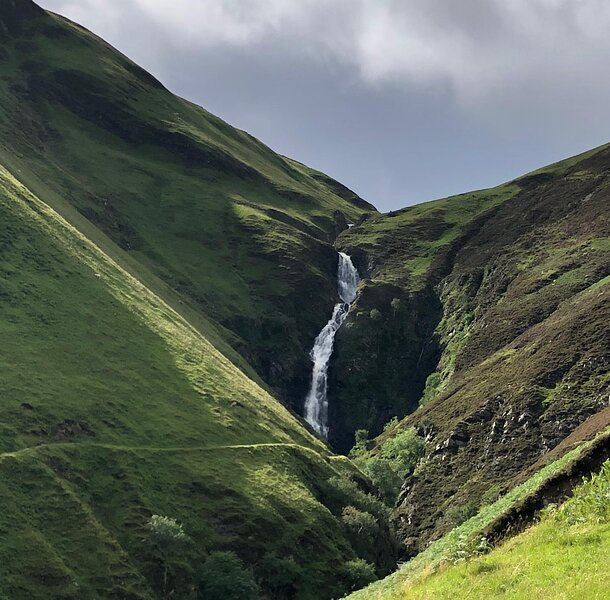 Grey Mare's Tail Waterfall.