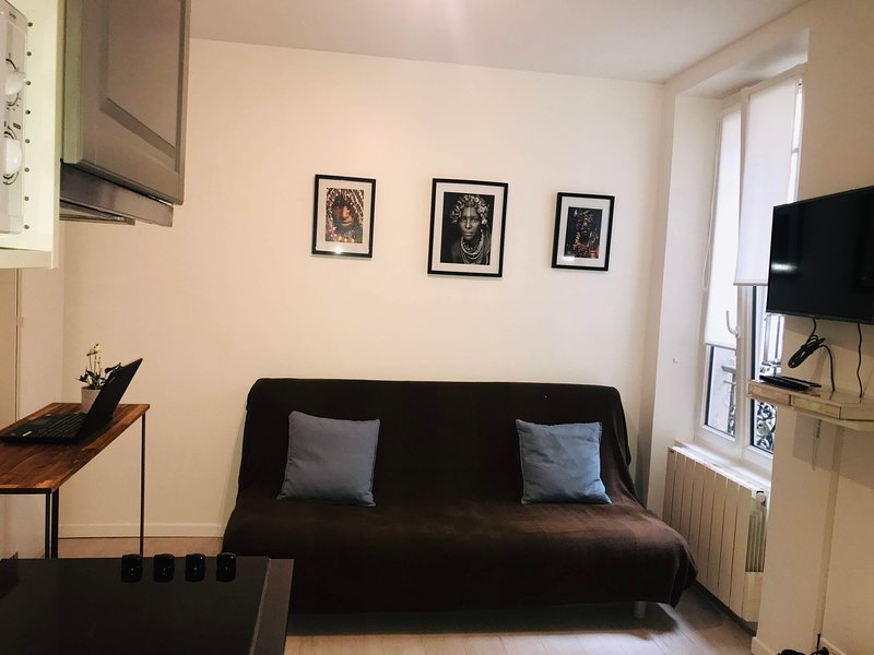 Studio cosy & moderne - Batignolles / Épinettes, vacation rental in Paris