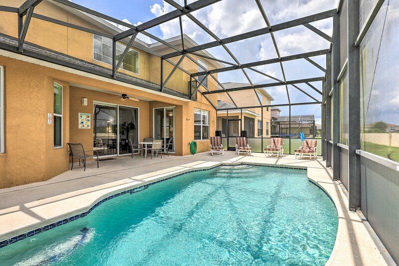 NEW! Family Villa w/Game Room, 8Mi to Disney Parks, casa vacanza a Intercession City