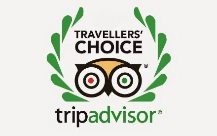 we are delighted to have received a 2020 Travellers choice award