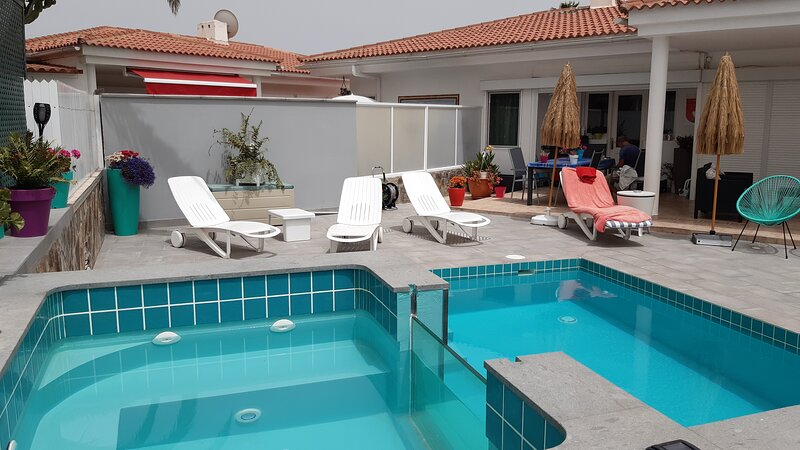 Amazing house with swimming-pool, alquiler vacacional en Gran Canaria