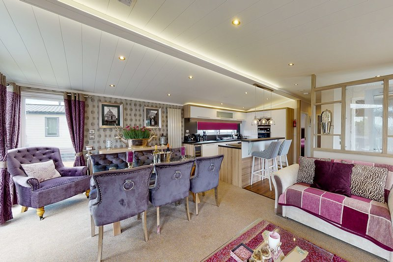 Tattershall VIP Lodge, holiday rental in Kirkby on Bain