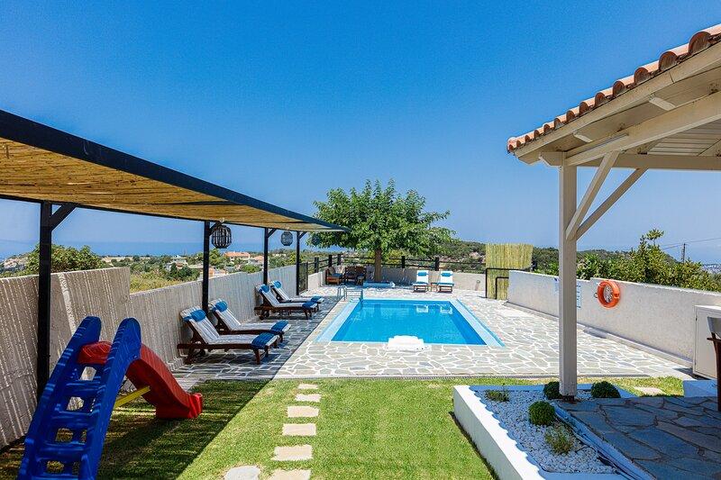 Dimitra Villa, peaceful haven!, holiday rental in Prasies