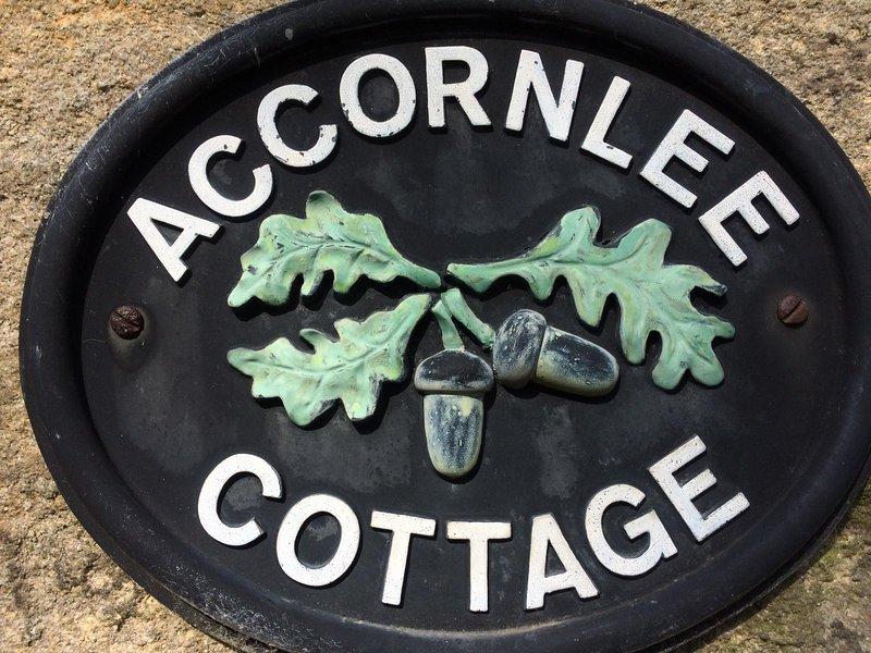 Accornlee cottage, vacation rental in Kelbrook
