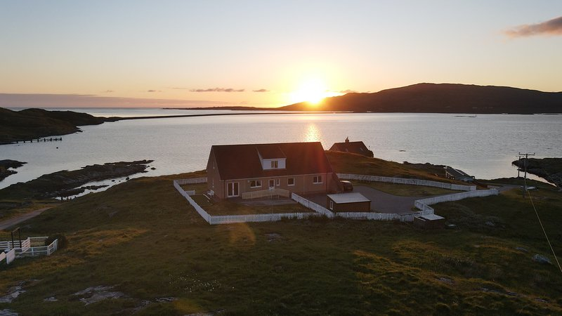 Aird Na Haun. Isle of Eriskay, South Uist Scotland, holiday rental in Castlebay
