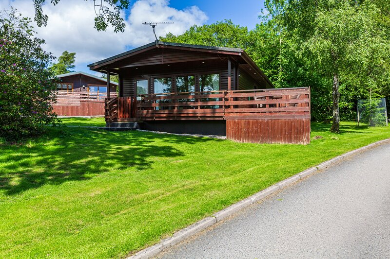 Bluebell Lodge 2 with Hot Tub, Newton Stewart, vacation rental in Newton Stewart