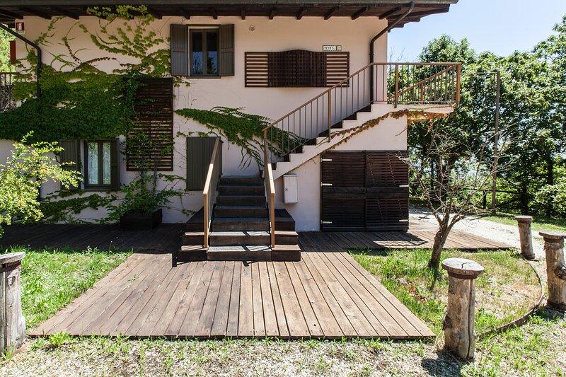 Apartment in the Tuscany Hills, casa vacanza a Mologno