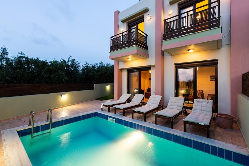 Loutra Wedding Villa Up to 38, holiday rental in Mesi