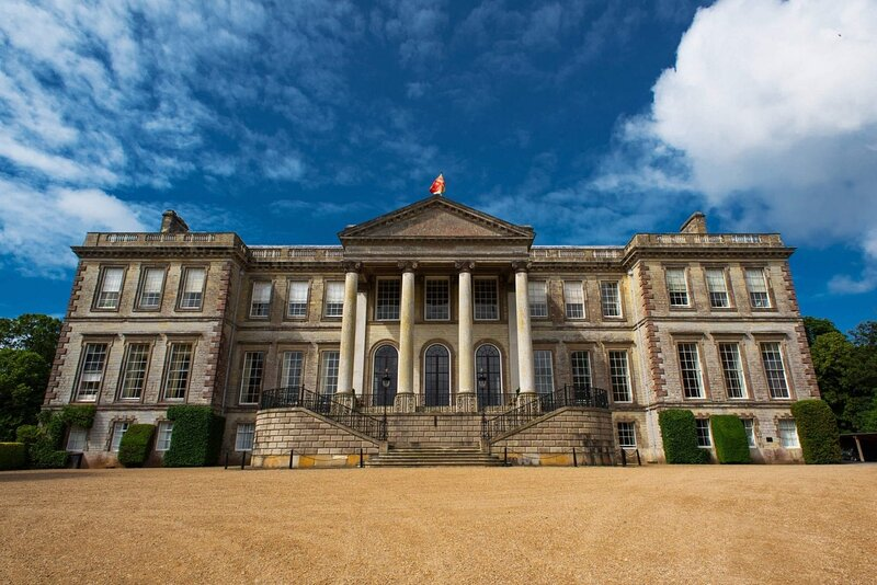Ragley Hall is about 15 mins drive and set in amazing grounds