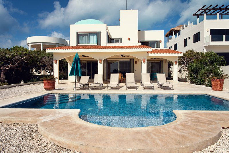 Casa M New house in Punta Sur, holiday rental in Isla Mujeres