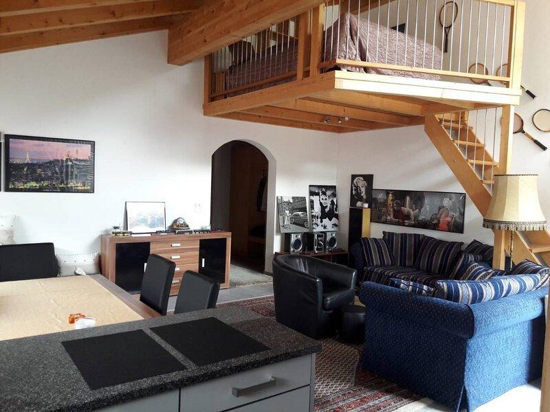 Neuwertige 3 ½ Zimmer-Wohnung in Zillis/Andeer, vacation rental in Cresta