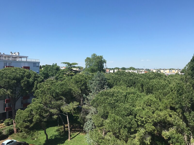 BEL APPARTEMENT AVEC VUE ET PARKING, vacation rental in Beziers