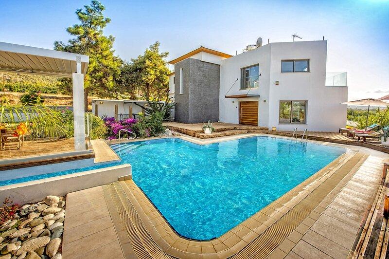 Argaka - Polis - Latchi - Luxury 4 Bedroom Villa - Stunning Sea Views, holiday rental in Argaka