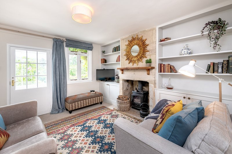 Brooks View, Romantic 1 Bed holiday Cottage with Private Garden in Bath. Calm, Ferienwohnung in Bath