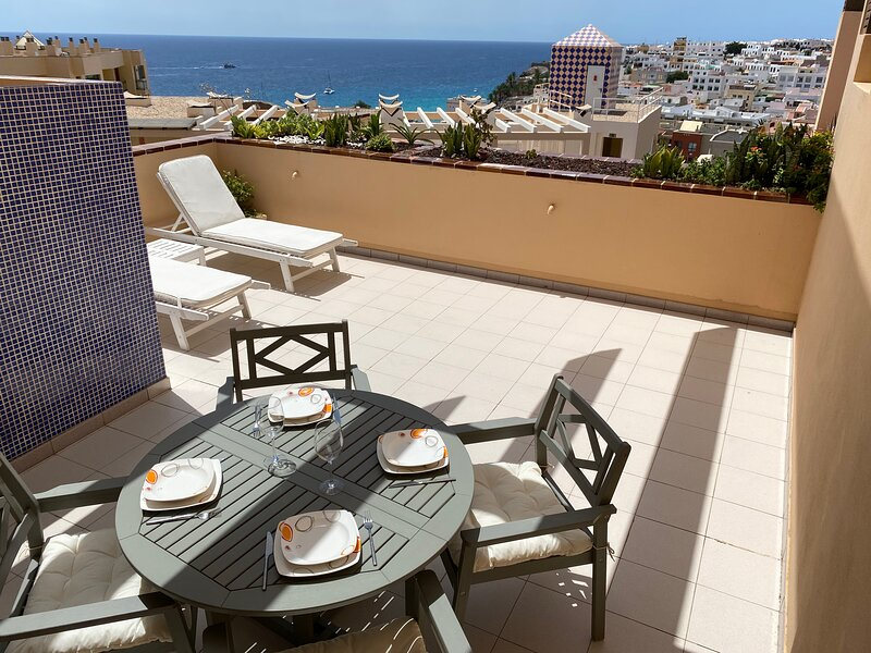 Apartment in the south of Fuerteventura, in Morro Jable, to 200 m. from the beach, holiday rental in Pajara