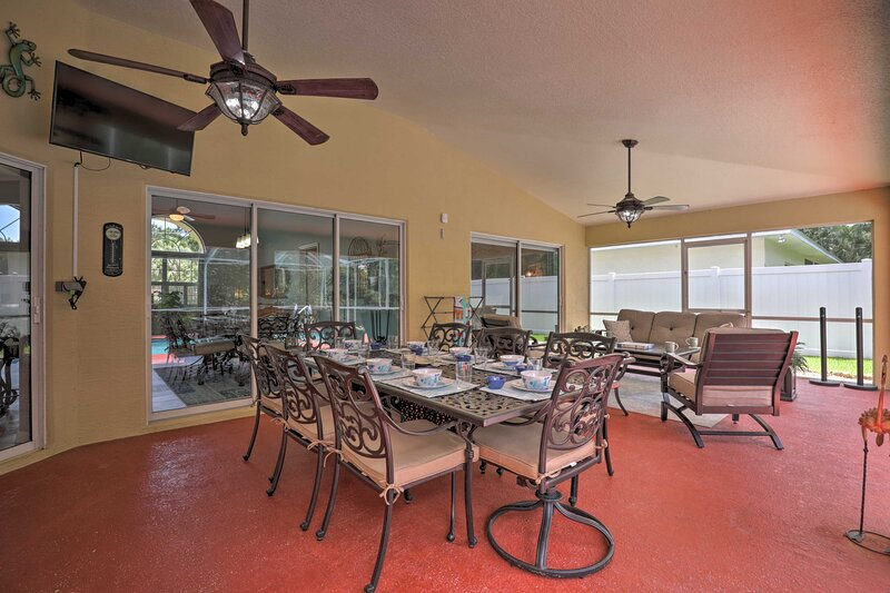 This home offers all the space and amenities needed for your next getaway.