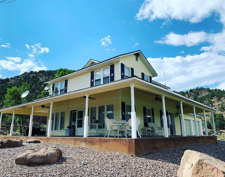 Stagecoach Ranch Colorado - Veranda House, holiday rental in Silver Cliff