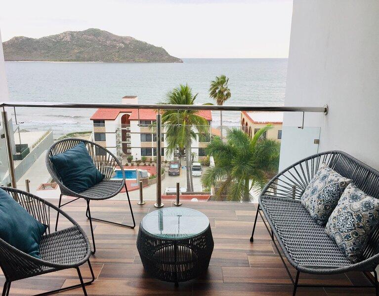 DEPARTAMENTO DE LUJO FRENTE AL MAR, vacation rental in Mazatlan