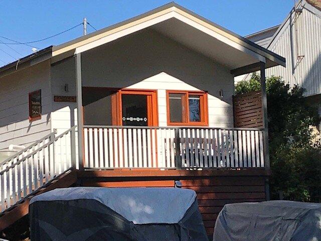 Fairview Cottage - Nords Wharf tiny house, location de vacances à Brightwaters