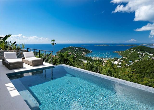 Marathon: New Construction! Full AC! Pool! Amazing Views!, vacation rental in Cruz Bay