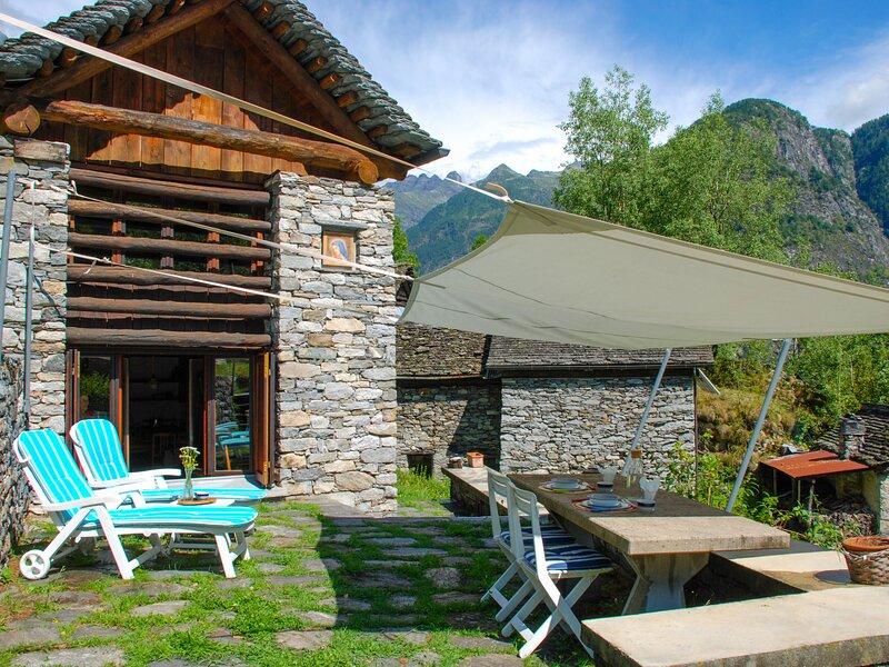 Técc di Pedränt, vacation rental in Airolo