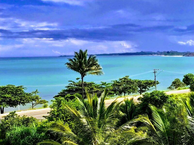 Vista frontal par ao mar de Meaipe!