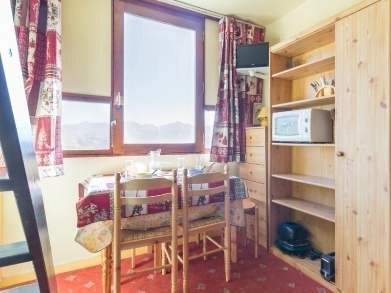 AU PIED DES PISTES STUDIO DE 16 M² AVEC VUE SUR LES MONTAGNES, holiday rental in Le Corbier